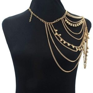 Jewelry - Necklace shoulder drape